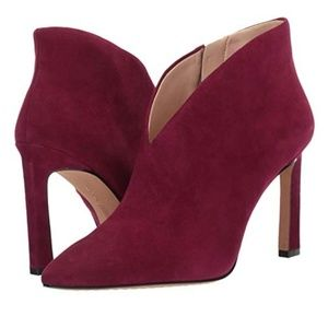 🔱 VINCE CAMUTO 🔱 PLUM PURPLE ANKLET BOOTIES